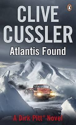 """AS NEW"" Atlantis Found (The Dirk Pitt Adventures), Cussler, Clive, Book"