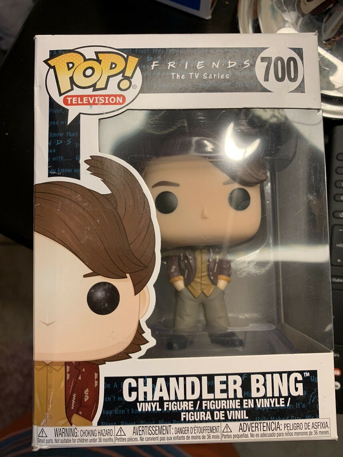 Funko Pop! Friends TV: Chandler Bing #700