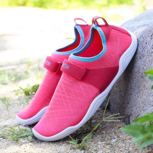 Womens Water Sport Skin Shoes Aqua Socks Yoga Pool Beach Swim Surf Exercise pink