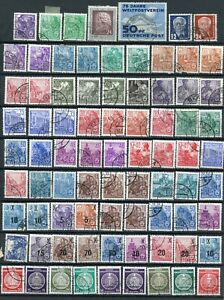 122-Old-German-Democratic-Republic-DDR-Postage-Stamps-Used-MH