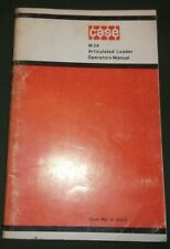 Case W24 Articulated Loader Operator Operation Amp Maintenance Manual Book