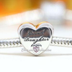 Authentic Pandora Granddaughter S Love 796261pcz Charm Ebay