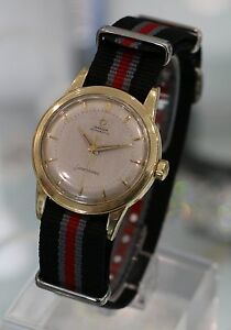 OMEGA-Vintage-Seamaster-from-1954-14K-Yellow-Gold-Watch-Ref-GX6546