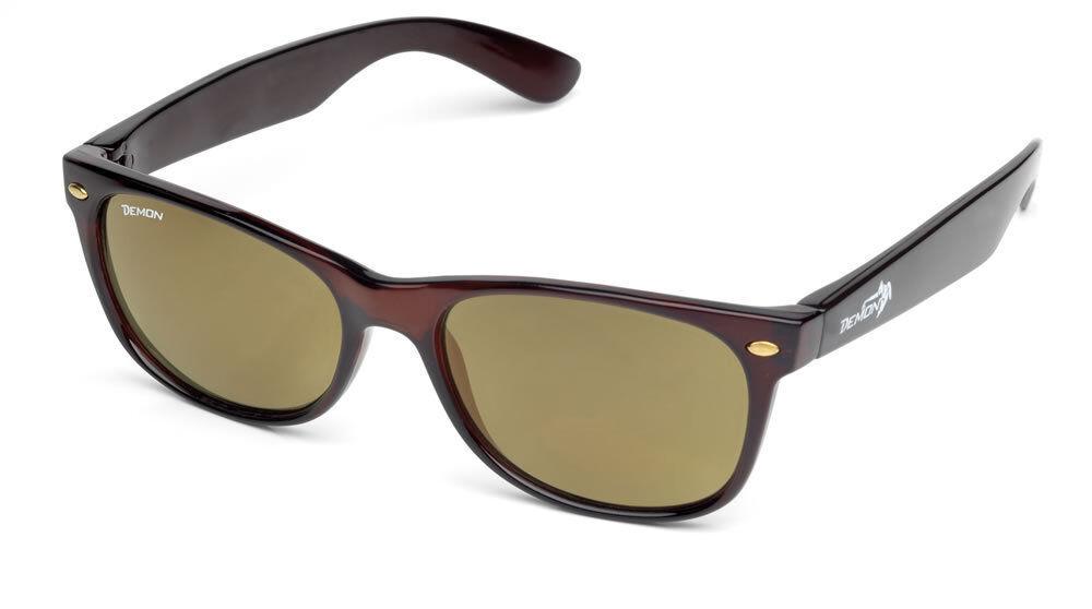 DEMON 42N polarized polarized polarized crystal braun Sonnenbrille polarisierend anti reflex | Elegant  12d667