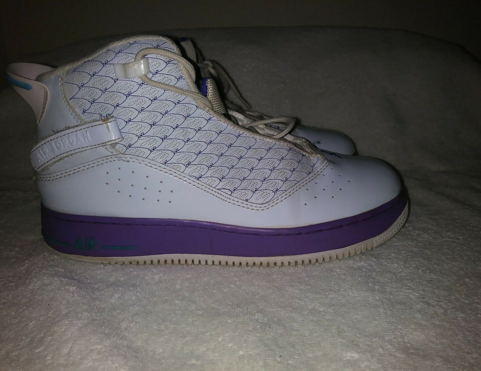 Nike Air Jordan  Two 3 White w/Purple Men's Comfortable Special limited time