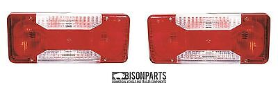*Iveco Daily 3750 2.3D 35C12 HPI Chassis Cab Tail Light Lens Pair Tipper