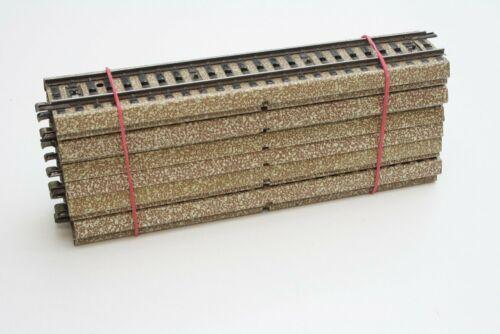 Märklin 5106 10x gerades M-Gleis 180 mm in H0