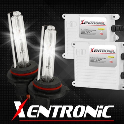 XENTRONIC 55W 9006//HB4 Headlight Xenon Bulbs /& AC Slim Ballasts HID Kit 5000K