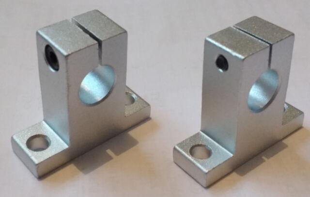 SK12 Bracket - 12mm Linear Rail, Shaft, Rod Support - CNC & 3D Printer - SH12A