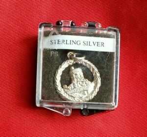 STERLING SILVER  WINDSOR CASTLE Pendant  Boxed Gift UK FREE 1st Class P&P
