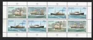 Iceland-Sc-745-1991-Ships-stamp-sheet-mint-NH