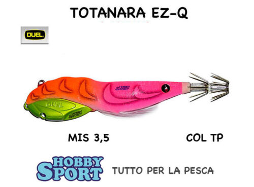 TOTANARA DUEL EZ-Q GAMBERO MIS.3,5 GRAMMI 40 COL TP A1637 PINK ORANGE