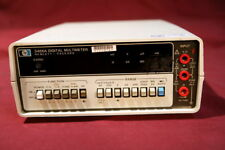 Hp 3466a Digital Multimeter Rms 45 Digits W Bat Opt