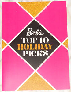 2016-Barbie-Top-Ten-Holiday-Picks-Collector-Catalog-Magazine-Warhol-LaVinia-Diva