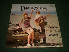 Walking In The Sunshine Dave & Susanne~AUTOGRAPHED~Private Folk Pop~FAST SHIP!!!