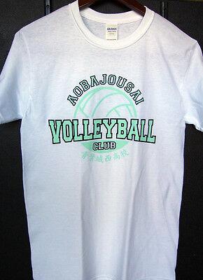 Haikyuu! Aobajousai High School Volleyball Cosplay T-Shirt Anime Themed White