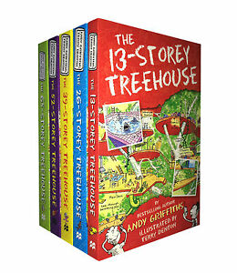 The-13-Storey-Treehouse-Collection-5-Books-Set-By-Andy-Griffiths-amp-Terry-Denton