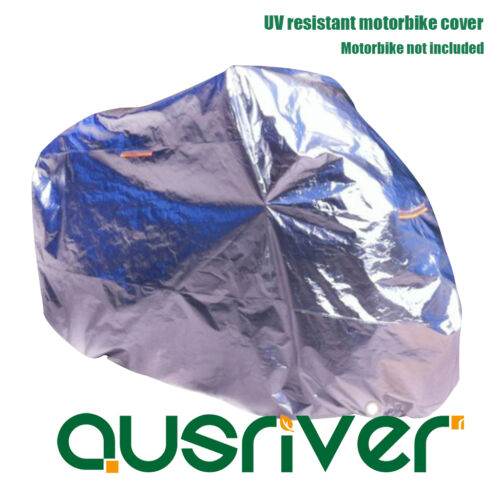 Universal Alu Foil Sun UV Resistant Waterproof Motorbike Cover Reflective strip