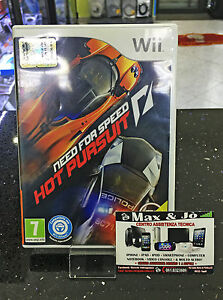 NINTENDO-WII-NEED-FOR-SPEED-HOT-PORSUIT-SPEDIZIONE-LAMPO