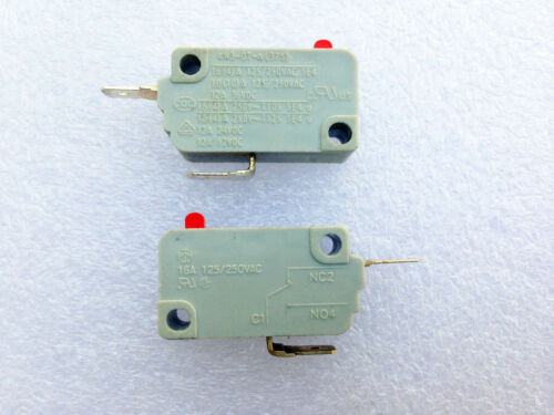 2Pcs 375 Microwave Oven KW3-0T-A Door Switch Normally Closed
