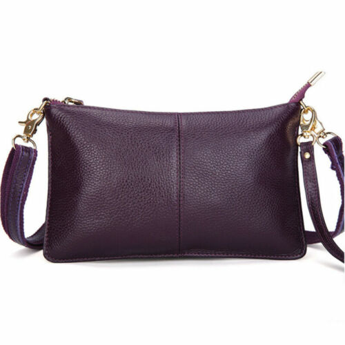 Women Messenger Hobo Bag Genuine Leather Handbag Shoulder Tote Purse Crossbody H