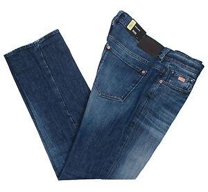 new styles pick up huge sale Details about HUGO BOSS KANSAS 2 50318967 MEN'S REGULAR FIT STRETCH BLUE  JEANS PANTS MULTISIZE