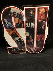 U2-Shaped-Record-with-Unforgettable-Fire-Sort-of-Homecoming-1984-Album-Unplayed