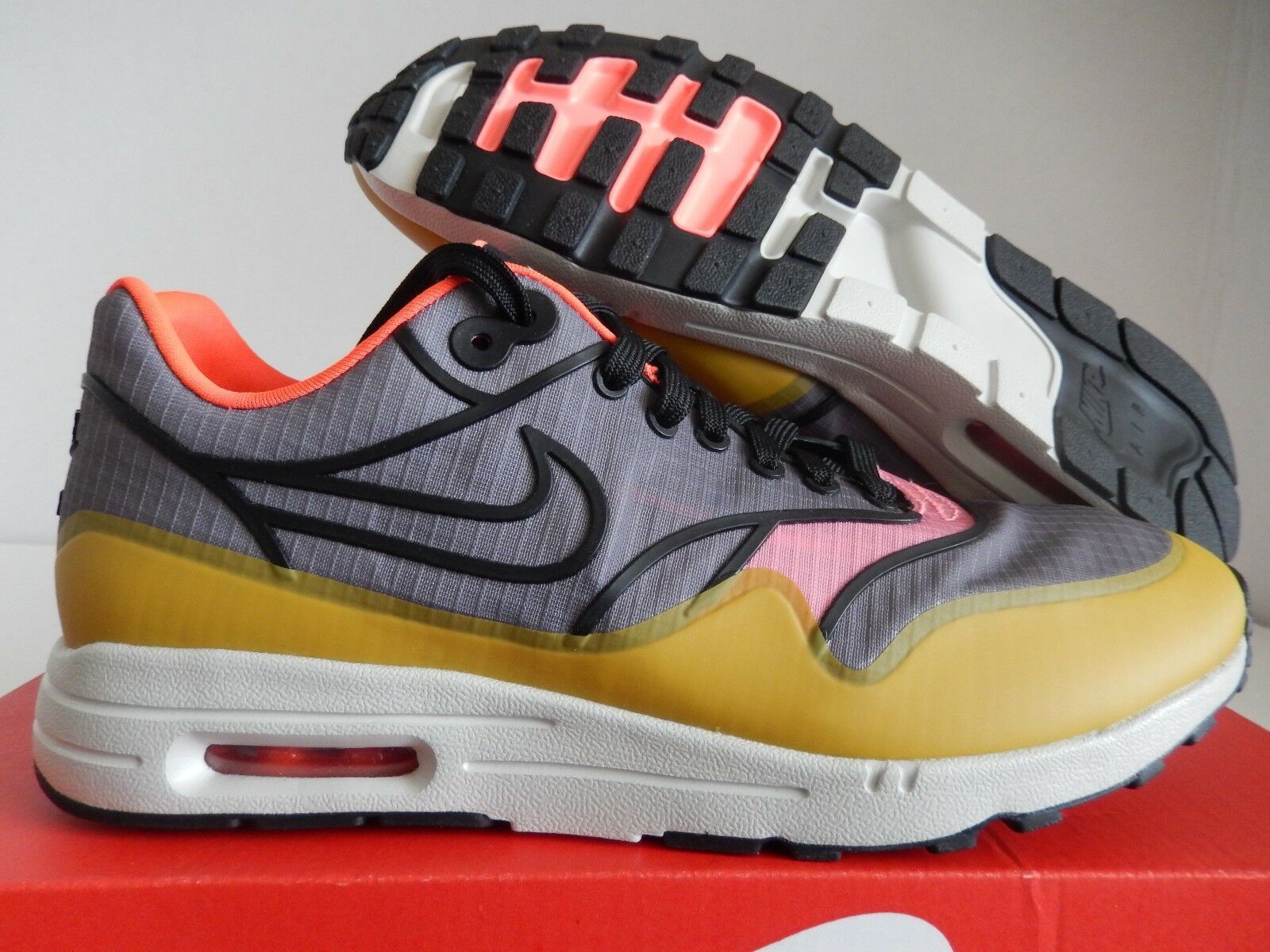 Mujeres Nike Air Max 1 Ultra 2.0 2.0 2.0 si Cool gris-Negro-Luz Hueso Talla 8.5  descuento online
