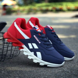 Men's Casual Athletic Sneakers Lightweight Sports Trainers Running Tennis Shoes
