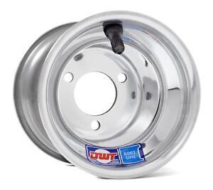 Honda-ATC-70-DWT-Polished-Aluminum-Blue-Label-Front-or-Rear-Wheel-Rim-8-034-8X6