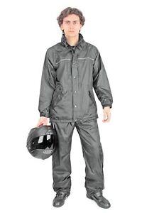 TUTA-COMPLETO-IMPERMEABILE-ANTIPIOGGIA-ANTIACQUA-MOTO-DIVISIBILE-OJ-LIGHT-TG-XL