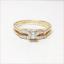 thumbnail 2 - Harold Freeman 14K Gold Brilliant Cut Diamond Estate Engagement Wedding Ring
