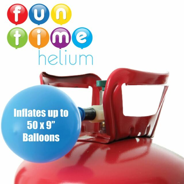 Birthday Party Supplies Disposable Helium Cylinder Canister Fills 50 Balloons