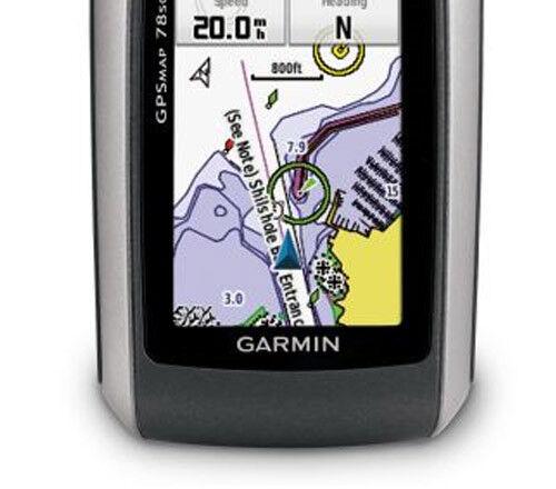 """2.6/"""" Backlit Display Garmin GPSMAP 78sc GPS Handheld Receiver W"""