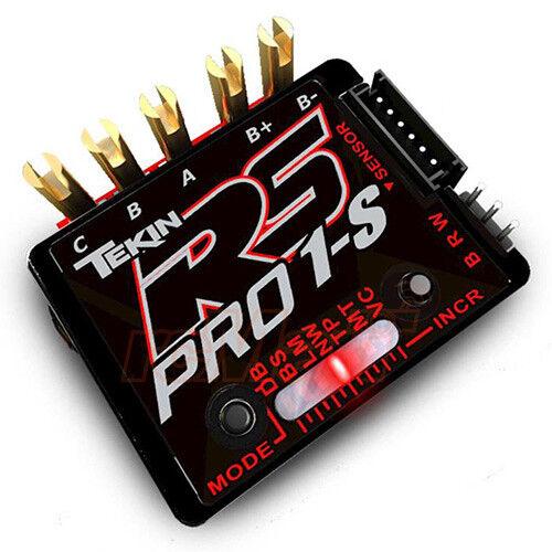 Tekin RS Pro Negro Edición BL 1S 1 12 Sensorojo Sensorless Brushless ESC  TT1161