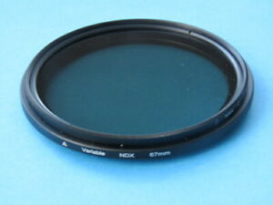 67mm-Filtro-ND-Fader-Ajustable-Variable-de-densidad-neutra-ND2-ND400-Lente-Para