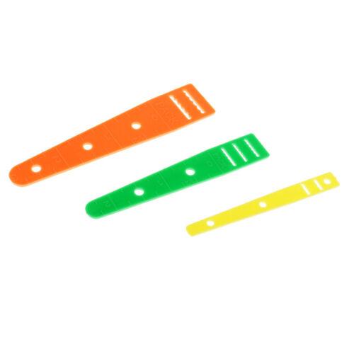 5pcs Metall Bodkins Prise Einfädler Elastic Threader Guides Handcrafted