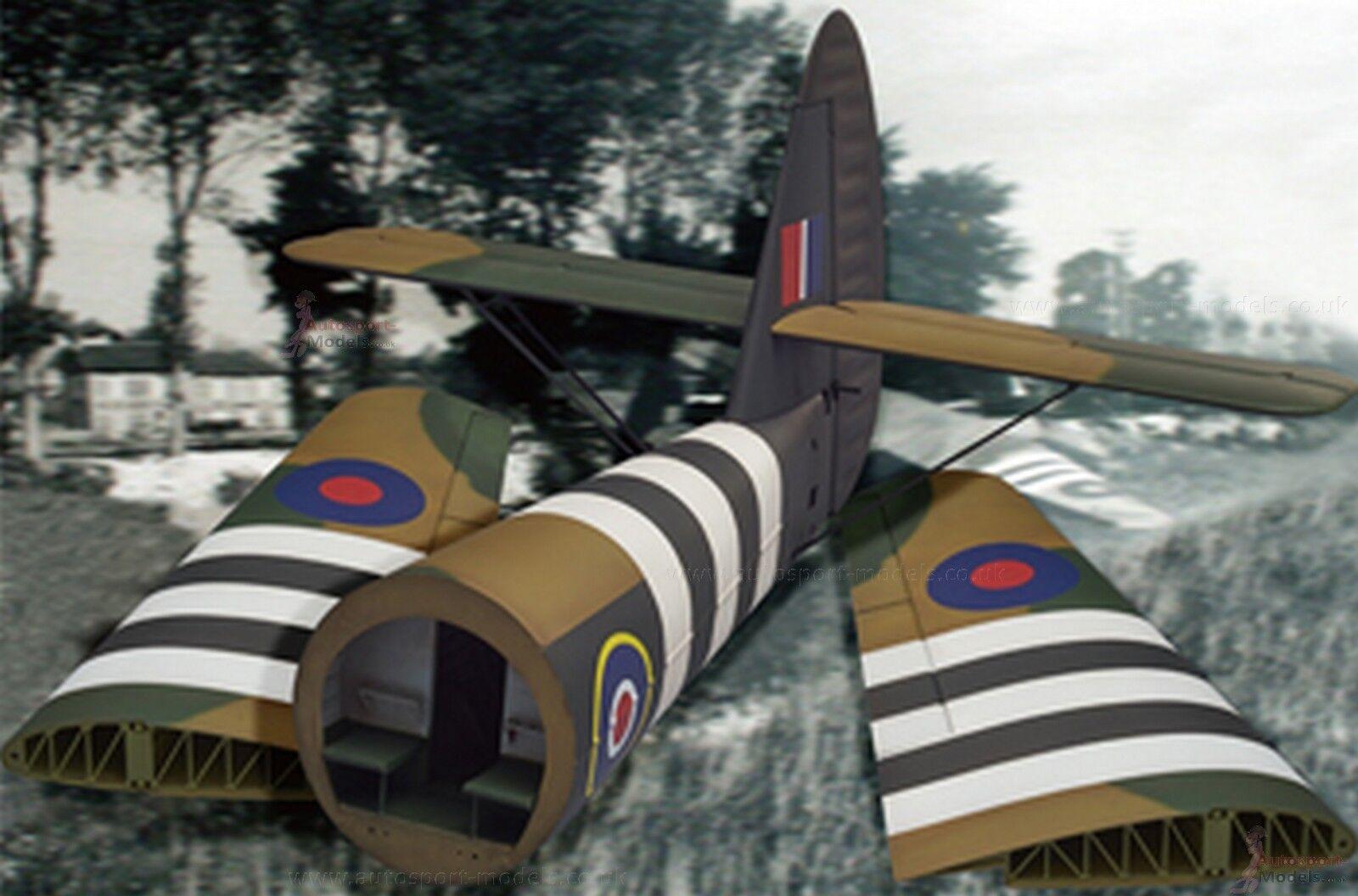 1 35 scale Horsa Glider Wings & Rear Fuselage (Tail)  model kit by Bronco Models