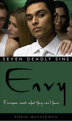 1 of 1 - Wasserman, Robin, Envy (Seven Deadly Sins), Very Good Book