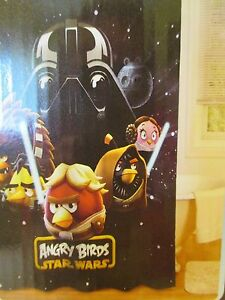 Image Is Loading Star Wars Angry Birds Shower Curtain NEW 70