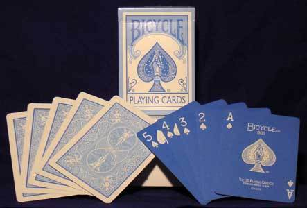 2 pack BLUE REVERSE Bicycle Pastel deck Playing Cards fashion design cute gaff