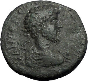 COMMODUS-177AD-Thessalonica-Macedonia-Nike-Authentic-Ancient-Roman-Coin-i55865