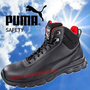 meilleur site web 6de7f 2a420 Details about Safety Boots Puma Pioneer Range S3 Lightweight and Steel  Toecap ESD & SRC Rated