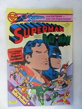 1 x Comic - Superman Batman  ohne  Sammel Ecke    Nr.8    (Apr 1984)   Z. 1-2