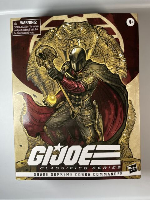 Hasbro GI Joe Classified Cobra Commander Snake Supreme Pulse Exclusive