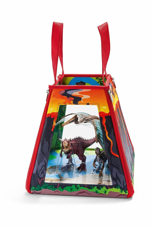 Schleich Dinosaur Volcano Playmat Set. Best Price NEW (XA2)