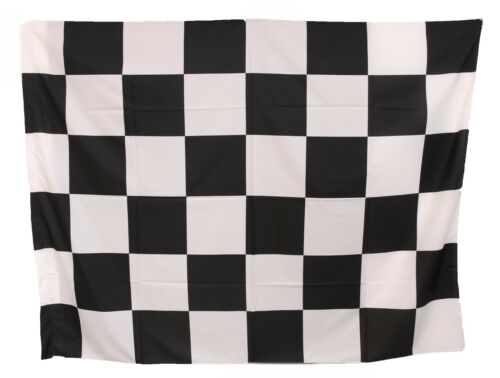 JUVENTUS FLAG WHITE CHESS BLACKS JUVE FORMULA 1 END COMPETITION 200X140