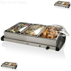 oster stainless steel electric buffet server food warmer chafing rh ebay com