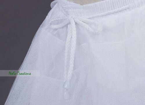 White Underskirt Communion Flower Girl Pageant Birthday Tutu Dress bridesmaid