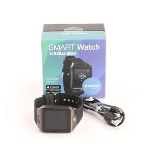 X-Watch X30W Smartwatch Fitness-Uhr Sportuhr Metallgehäuse... + NEU (232384)